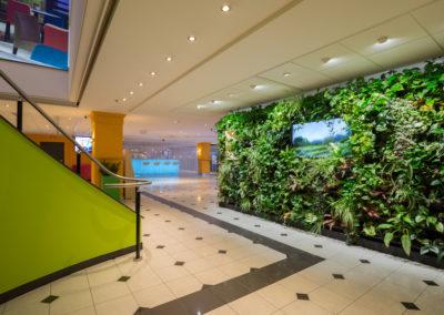 Lobby - Green Wall (2)